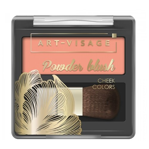 ART-VISAGE Компактные румяна Powder Blush 301 peach