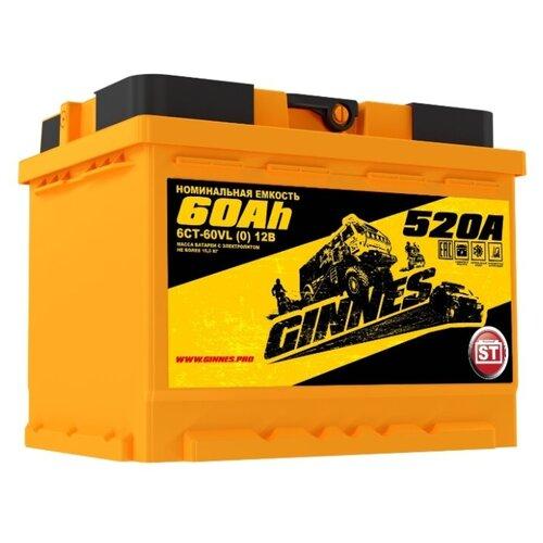 Автомобильный аккумулятор GINNES Yellow GY6001