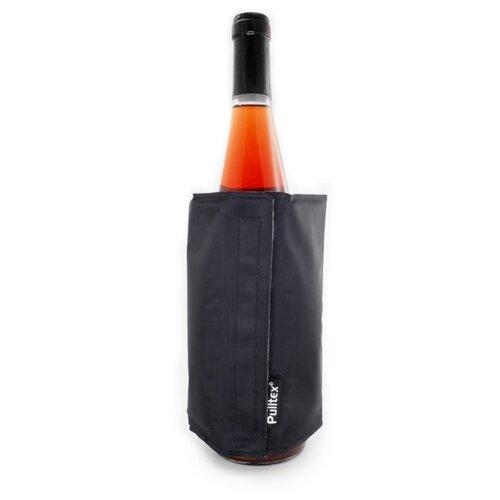 Охладитель-чехол для бутылки вина или шампанского «Cooling wrap», черный