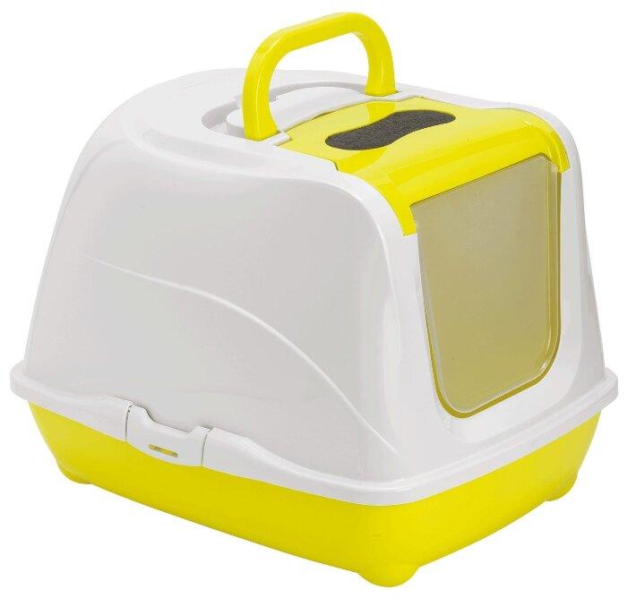 Туалет-домик для кошек Moderna Flip Cat Jumbo 57.6х43.9х41 см