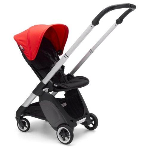 Прогулочная коляска Bugaboo ANT Alu/Black/Neon red, цвет шасси: серебристый