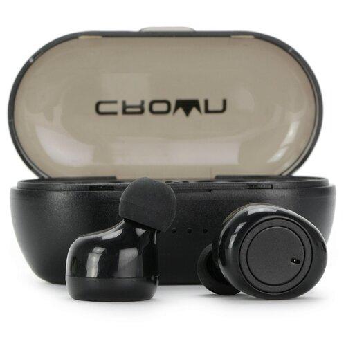 цена на Беспроводные наушники CROWN MICRO CMTWS-5001 black