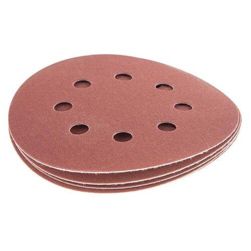 Шлифовальный круг на липучке Hammer 214-010 125 мм 5 шт шлифовальный круг на липучке hammer 214 011 125 мм 5 шт
