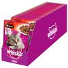 Корм для кошек Whiskas с ягненком, с говядиной (кусочки в желе)