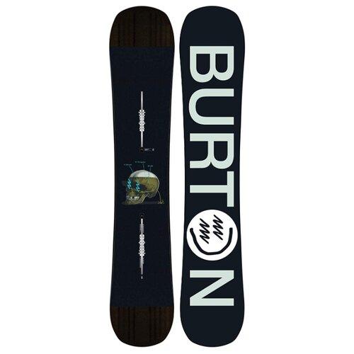 Сноуборд BURTON Instigator Flat Top (19-20) черный/серый 155 рубашка burton menswear london burton menswear london bu014emeqau2