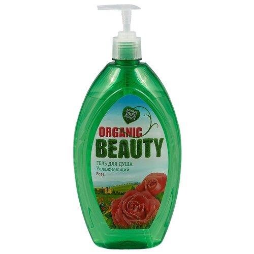 Гель для душа Organic Beauty Увлажняющий Роза, 1 л