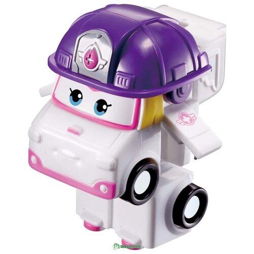 Трансформер Auldey SUPER WINGS Зоуи Мини (команда Спасателей) белый/фиолетовый
