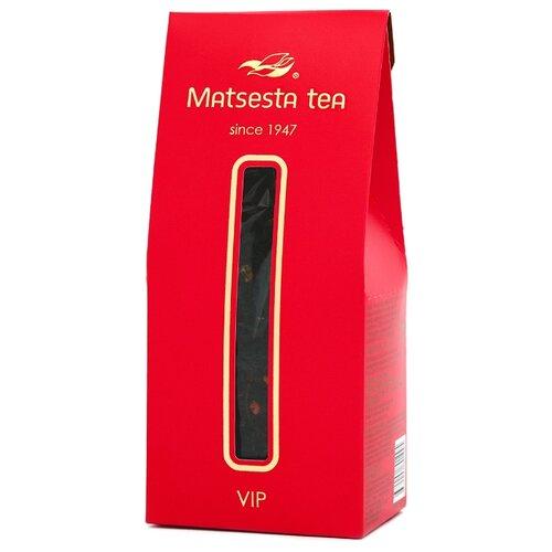 Чай черный Мацеста VIP с ягодами клубники , 75 г фото