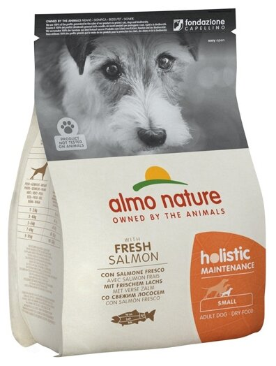Корм для собак Almo Nature Holistic лосось (для мелких пород)