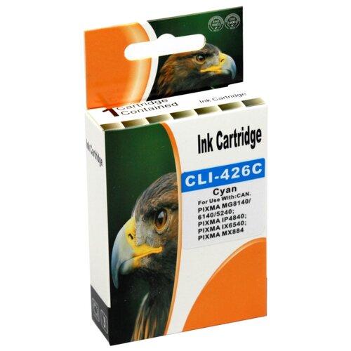 Картридж INKO CLI-426C, совместимый картридж inko hp 655 желтый