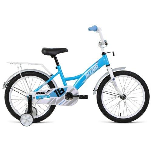 Детский велосипед ALTAIR Kids 18 (2020) бирюзовый/белый (требует финальной сборки)