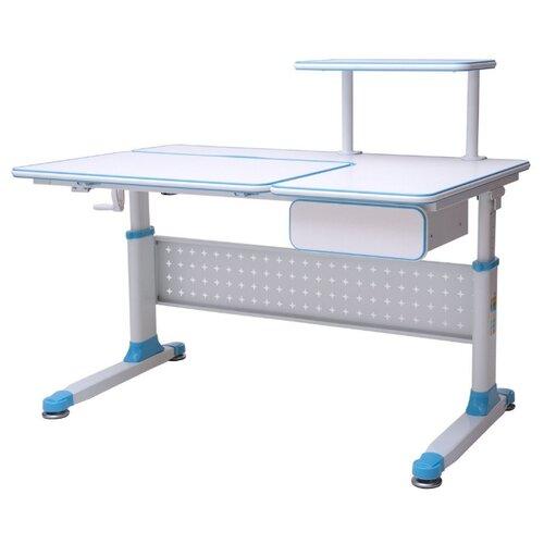 Стол RIFFORMA Comfort-34 110x70 см белый/голубой rifforma кресло comfort 06