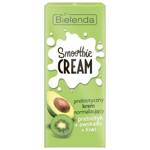 Bielenda Smoothie Cream Нормализующий крем для лица Пребиотик+Авокадо+Киви, 50 мл