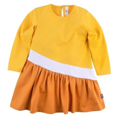 Платье Bossa Nova размер 86, желтый/оранжевый