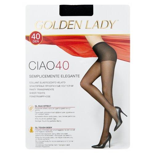 Колготки Golden Lady Ciao 40 den, размер 2-S, nero (черный) колготки golden lady ciao 20 den размер 3 m nero черный