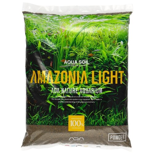 Грунт ADA Amazonia Light Powder 3 л коричневый