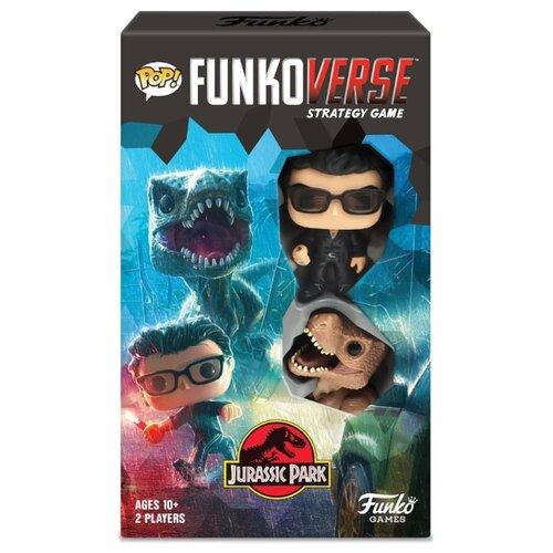 Купить Настольная игра Funko POP! Funkoverse: Jurassic Park 101 Expandalone 45889, Настольные игры