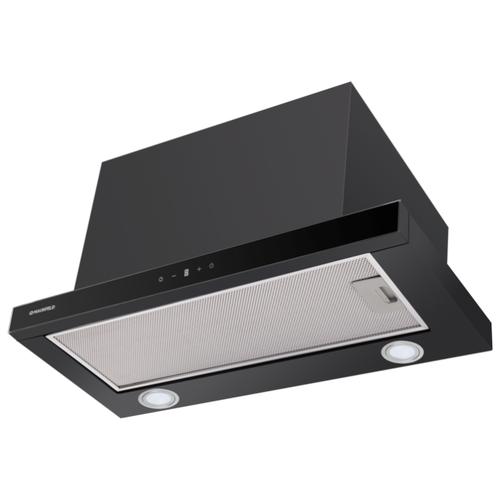 Встраиваемая вытяжка MAUNFELD TS Touch 50 черный встраиваемая вытяжка maunfeld ts touch 50 glass white