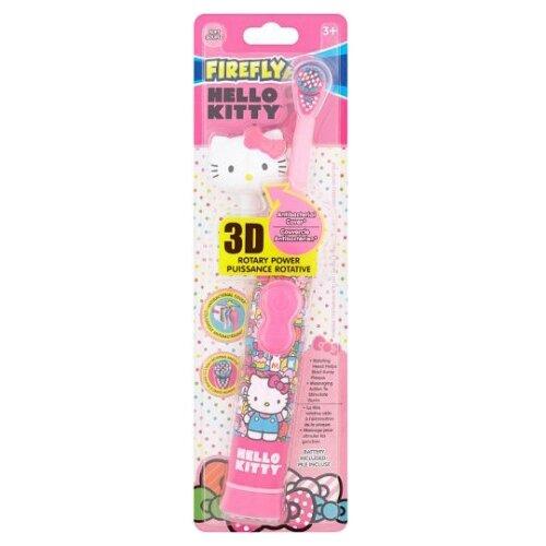 Электрическая зубная щетка Firefly Hello Kitty Rotary Power, розовый самокат hello kitty детский hc1003 kc розовый