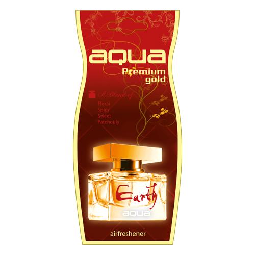 Aqua Ароматизатор для автомобиля Premium Gold Drop Earth 12 г