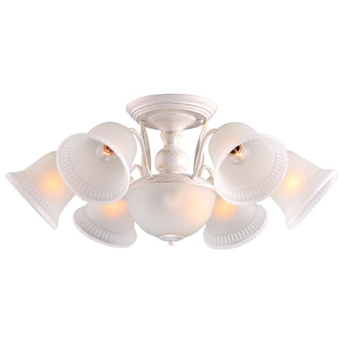 Люстра Arte Lamp Campanula A6306PL-8WG, E27, 480 Вт