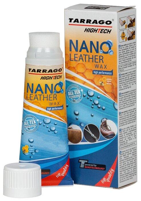Купить TARRAGO - Крем тюбик с губкой NANO Leather WAX, 75мл. (000 - neutral) по низкой цене с доставкой из Яндекс.Маркета (бывший Беру)