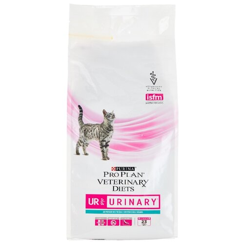 Корм для кошек Pro Plan Veterinary Diets (1.5 кг) Feline UR Urinary with Ocean Fish dry фото