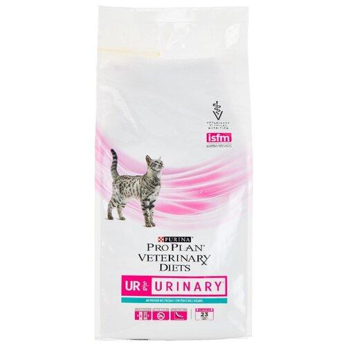 Фото - Корм для кошек Pro Plan Veterinary Diets (1.5 кг) Feline UR Urinary with Ocean Fish dry корм для кошек pro plan veterinary diets feline en gastrointestinal canned 0 195 кг 24 шт