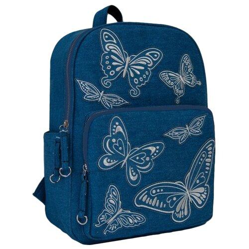 Купить Феникс+ Рюкзак 46672, голубой, Рюкзаки, ранцы