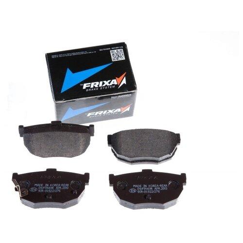 Дисковые тормозные колодки задние Frixa FPH01R для Hyundai Elantra, Kia Cerato, Nissan Primera (4 шт.)