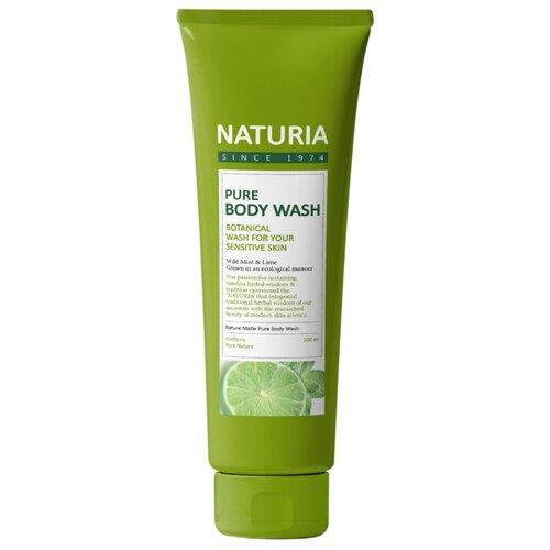 Гель для душа Naturia Wild Mint & Lime, 100 мл