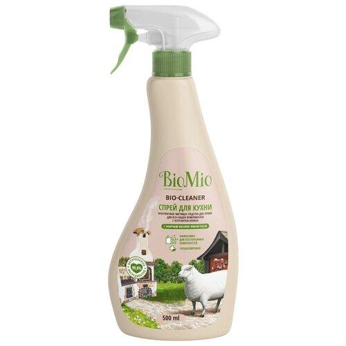 BIO-CLEANER Спрей для кухни с эфирным маслом Лемонграсса BioMio 500 мл