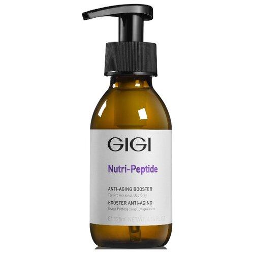 Концентрат-бустер GIGI Nutri-Peptide Anti-Aging Booster пептидный, 125 мл gigi пептидный увлажняющий балансирующий крем для жирной кожи 50 мл gigi nutri peptide