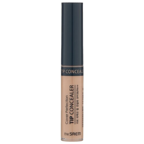 The Saem Консилер Cover Perfection Tip Concealer, оттенок Contour Beige консилер the saem cover perfection pot concealer 01 цвет 01 clear beige variant hex name d2ab8a