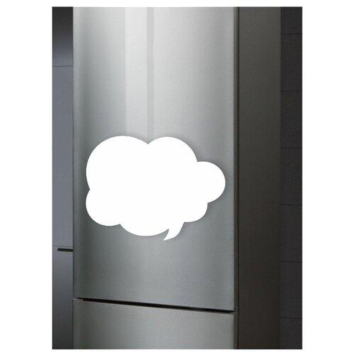 Доска на холодильник маркерная Doski4you СМСка комплект (30х40 см) белая