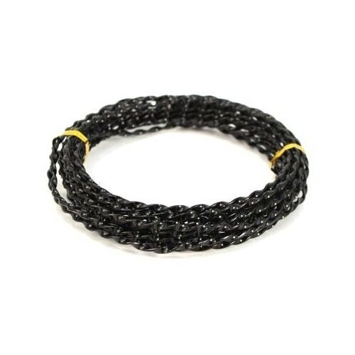 Купить Astra & Craft Проволока для рукоделия 3 мм х 5 м AWT 7709243 10 черный, Декоративные элементы и материалы