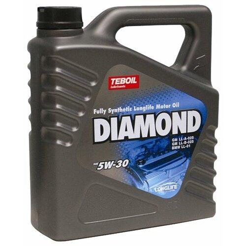 Моторное масло Teboil Diamond 5W-30 4 л фото