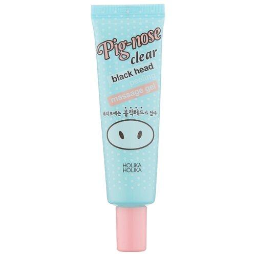 Holika Holika пилинг-гель для лица Pig-nose clear black head peeling massage gel 30 мл holika holika пилинг baby silky foot one shot peeling для ног жидкий 20 мл 2