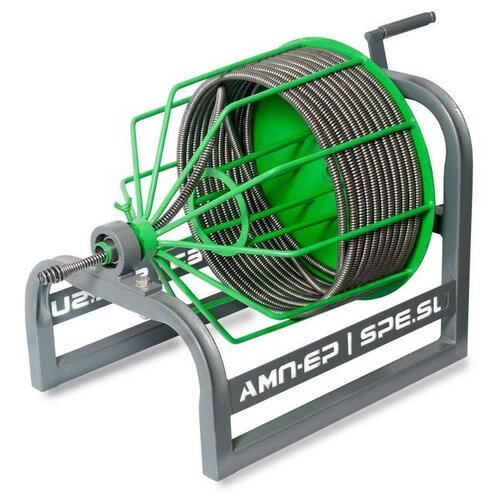 Прочистная машина Spex RAMUS-13S-30N зеленый/серый сантехнический трос 8 м spex stu b 10 8 зеленый серый