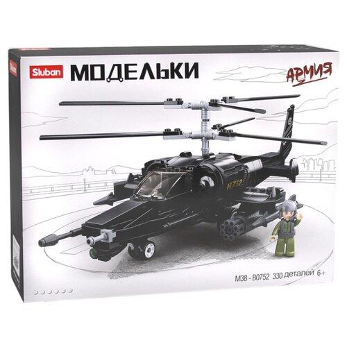 Купить Конструктор SLUBAN Модельки M38-B0752 Армия Вертолет, Конструкторы