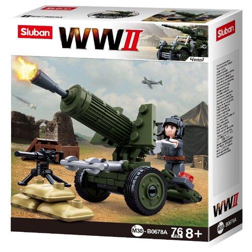 Купить Конструктор SLUBAN WW2 M38-B0678A, Конструкторы