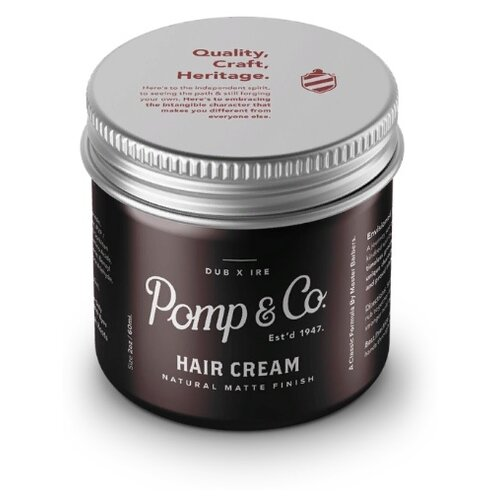 Pomp&Co Крем Hair cream, средняя фиксация, 60 г
