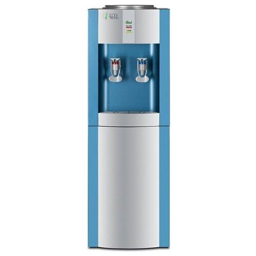 Напольный кулер Ecotronic H1-L серебристый/голубой