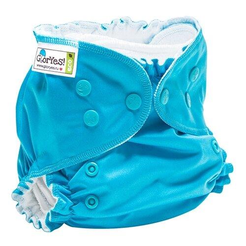 GlorYes! подгузники Classic+ (3-18 кг) 1 шт. синий, Подгузники  - купить со скидкой