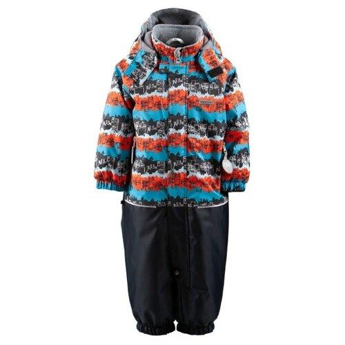 Купить Комбинезон KERRY WAVE K19005 размер 80, 6370 оранжевый/голубой/черный, Теплые комбинезоны