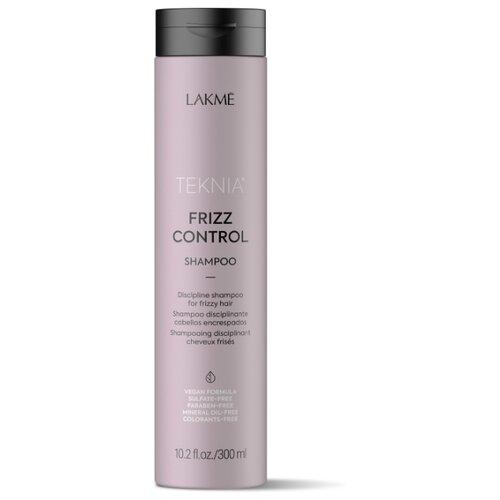 Lakme шампунь Teknia Frizz Control дисциплинирующий для непослушных или вьющихся волос 300 мл