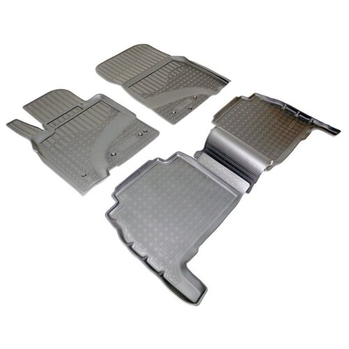 Комплект ковриков NorPlast NPA11-C47-500 4 шт. черный