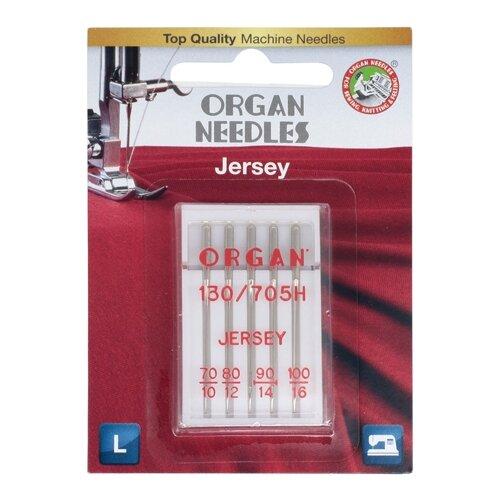 Игла/иглы Organ Jersey 70-100 серебристый