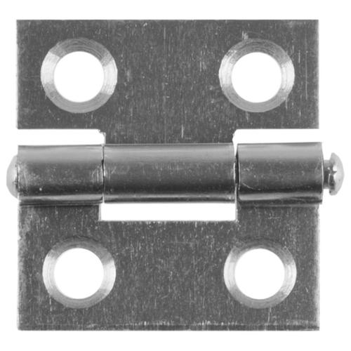 Врезная петля STAYER MASTER универсальная 25x24x1 мм белый цинк
