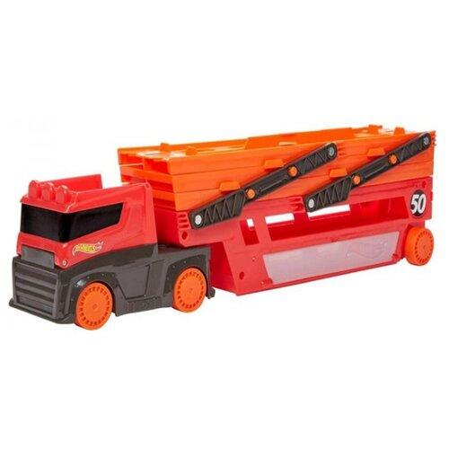 Купить Автовоз Hot Wheels GHR48 оранжевый, Машинки и техника